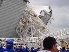"""Desabamento na Arena Corinthians é mais um na lista de """"acidentes"""" da Odebrecht"""