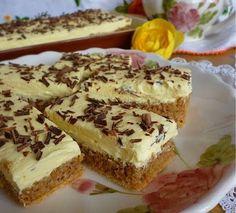 Jednoduché orechové rezy na oblátke s vanilkovým krémom | Božské recepty Cake Recipes, Dessert Recipes, Desserts, Tiramisu, Banana Bread, French Toast, Recipies, Cheesecake, Food And Drink