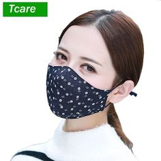 Buy Anti Dust Fashion Face Mouth Mask Anti Dust Mask Filter Windproof Mouth-muffle Bacteria Proof Flu Face Masks Care Reusable at Wish - Shopping Made Fun Dust Allergy, Logo Face, Flu Mask, Safety Mask, Fashion Face Mask, Mouth Mask, Trending Now, Dog Grooming, Tejidos