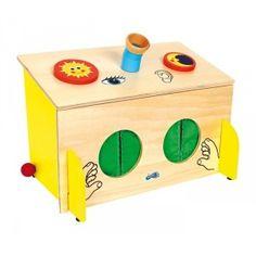 Caja de los sentidos - Montessori para todos