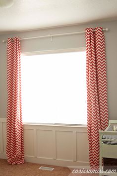Carissa Miss: DIY lined curtains