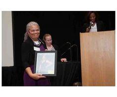 Dr. Rea Waldon recognized by The Women's Book Cincinnati