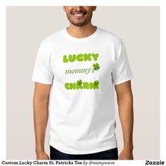 Custom Lucky Charm St. Patricks Tee
