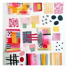 Blogpost- Color me creative color palette Julie Hamilton Creative #penpaperpaintpattern