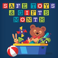 """""""While the majority of toys are safe, toys can become dangerous if misused or if they fall into the hands of kids who are too young to play with them. Scott Harris discusses Safe Toys & Gifts Month in his December message. Usa Gov, Injury Prevention, December, Hands, Messages, Seasons, Make It Yourself, Play, Toys"""