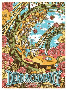 Dead /& Company Tour 2018 Custom Personalized Silk Poster Wall Decor