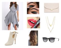 """""""Untitled #142"""" by gabriall-d ❤ liked on Polyvore featuring Fiebiger, Jimmy Choo, Ray-Ban and Mansur Gavriel"""
