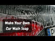 Homemade car wash soap recipes car wash soap car wash and homemade how to make your own car wash soap detailxperts blog diy solutioingenieria Image collections