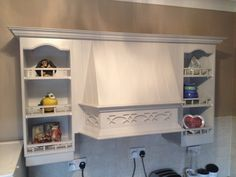 Hand painted kitchen Furniture, Wooden Kitchen, Bathroom Medicine Cabinet, Wooden, Hand Painted, Kitchen Restoration, Bespoke Kitchens, New Kitchen, Kitchen Paint