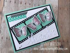 Jenny Watson - Butterfly Thanks