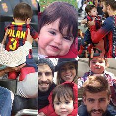 BABY MILAN #baby #milan #shakira #Music #cute #adore #adorable #fashion #style #lookbook #babyboy #blue #sweet #aww #football #thevoice #adamlevine #win #winner #blonde #bellydancer #worldcup2014... - Celebrity Fashion