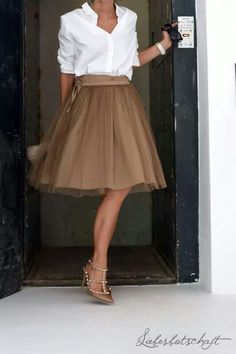 Beautiful skirt via Villa Smilla: