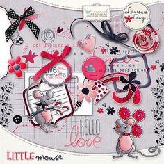 Little Mouse [LDlittlemouse] - €2.60 : My Scrap Art Digital, Passion for Digital Scrapbooking