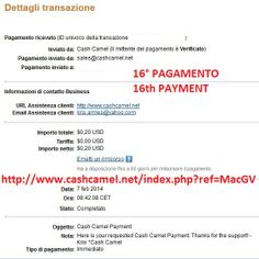 16th payment from  http://www.cashcamel.net/index.php?ref=MacGV  Great site! And great admin!