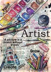 """Video: artists, a message from the universe. """"artist"""" mixed media drawing on distressed parchment - flying shoes art studio dictionary art Agnus Day, Tableau Pop Art, Selling Handmade Items, Dictionary Art, Shoe Art, Print Artist, Artist Work, Art Sketchbook, Medium Art"""