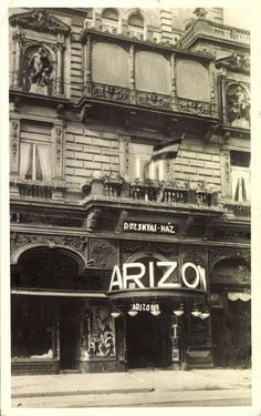 #Budapest 1936 - #ArizonaDancingBar #OldBudapest http://old-time-budapest.blogspot.rs/2016/01/budapest-1936-arizona-dancing-bar.html #OldHungry