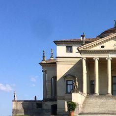 Andrea Palladio - La Rotonda Andrea Palladio, Palaces, Villas, Castles, Classic Style, Illustrations, Architecture, House Styles, Photography