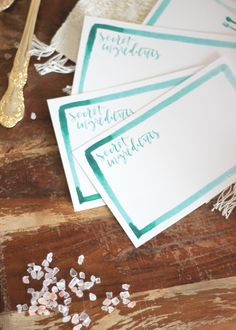 Printable recipe cards || A Fabulous Fete