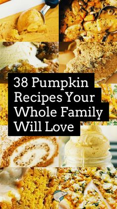 Everything Pumpkin! As we're getting geared up for Thanksgiving season, enjoy 38 (and a bonus) Pumpkin recipes your entire family will love! Diet Desserts, Diet Recipes, Cooking Recipes, Homemade Cookbook, Coconut Custard, Good Food, Yummy Food, Sweet Potato Chips, Fall Baking
