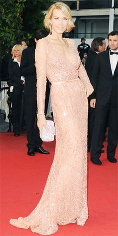 Petra Nemcova in Elie Saab Couture at Cannes 2013