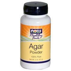 Now Foods, Healthy Foods, Agar Powder, 2 oz (57 g) - iHerb.com  cheaper to buy agar powder then agar flakes