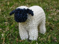 Knitted Suffolk Sheep. <3