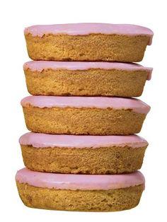 Roze koeken, die kocht ik altijd in de schoolkantine