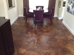 indoor stained concrete floors | HARVESTLANDSCAPECONSULTING.COM/EVENT/DOCS/SYST/