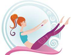 Pilates Stock Photos And Images Pilates Workout, Gym Workouts, Studio Pilates, Anatomy Art, Stay Young, Epiphany, Kawaii Cute, Yoga Poses, Fitness Inspiration