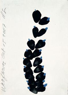 Donald Sultan, Wallflowers, 2007