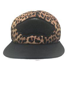 Vans Off The Wall Brown Black Leopard Mesh Trucker Snapback Skater Punk Cap  Hat f425d37de875