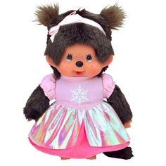 Peluche Monchhichi - Princesse Rose