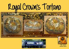 Sweet and That's it: Royal Crown's Tortano / Pane della Royal Crown Bakery Royal Crowns, Crown Royal, Bakery, Yummy Food, Bread, Future, Sweet, Recipes, Candy