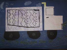 Kindergarten Shape, Line, and Texture Trucks