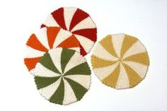 Shaker Dishcloths & Coasters Pattern by Staci Perry