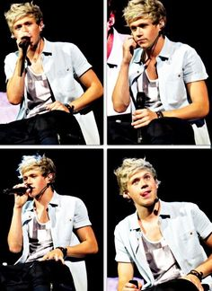 If I could say anything to Niall it would be: Hey Niall I just wanted to let you know that I'm in love with you're beautiful eyes and you're amazing voice. You have come a long way and I just wanted to say that I'm falling harder and harder everyday...thanks for the smiles.