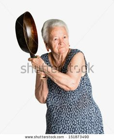Find Angry Old Woman Pan On White stock images in HD and millions of other royalty-free stock photos, illustrations and vectors in the Shutterstock collection. Stupid Funny Memes, Funny Facts, You Funny, Grandma Memes, Angry Meme, Stock Pictures, Stock Photos, Juju On That Beat, Weird