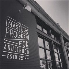 A Masters Program For Adulthood by Dan Cassaro