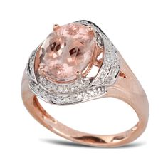 Everyone loves the blushing beauty of morganite. Give the gift of morganite this holiday season.