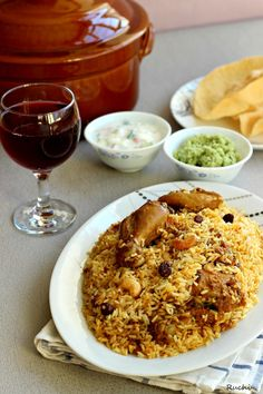 RUCHI: Malabar Chicken Biriyani