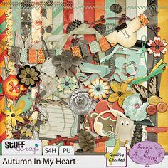 Autumn In My Heart by Scraps by Missy