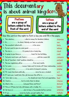 Word Formation interactive and downloadable worksheet. You can do the exercises online or download the worksheet as pdf.