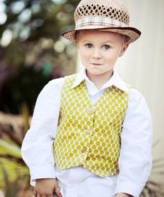 Little Lads Vest | The best sewing patterns for women, girls, toys and more. Go To Patterns & Co.