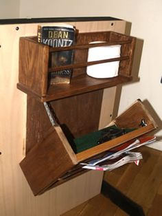 hidden gun storage | Secret Gun Compartment Magazine Rack Hidden Gun Compartment ...