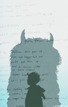 Where the Wild Things Are.  I loved the book, not so much the movie
