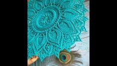 Crochet Doily Patterns, Crochet Mandala, Thread Crochet, Crochet Designs, Crochet Doilies, Crochet Carpet, Crochet Home, Crochet Bracelet, Floor Mats