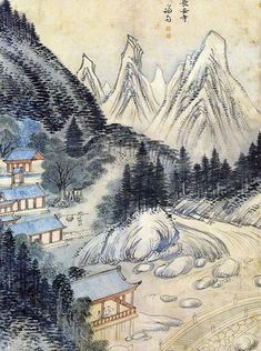 The Real Landscape Painting  장안사