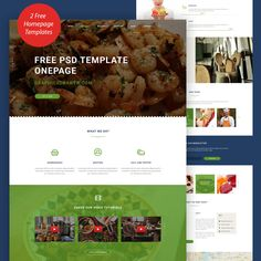 Nice Cooking Blog Website Template Free PSD. Download Cooking Blog Website Template Free PSD. This is a free psd template suited for restaurants or food related websites. It has a clean design with the layers well organized and named making it easier to modify this free psd template for your next web project. Cooking Blog Website Template Free PSD package contains 2 Homepage Versions and 1 page with Features. Hope you like it. Enjoy!
