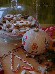 La maison du bonheur: pâtisseries de Noël.