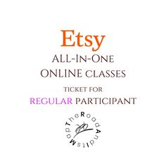 Online Etsy All-In-One Class, Video Call SEO Training, Shop Critique, Title Tag Lessons, Marmalead Pinterest Course, TRAIMings, Mentoring